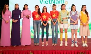 Dàn hoa hậu, á hậu quảng bá du lịch Việt