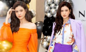 Trương Quỳnh Anh thay ba trang phục trong sự kiện