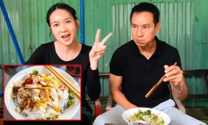 Lý Hải, Minh Hà lần đầu ăn bún mắm xứ Quảng