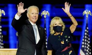 Vợ Joe Biden giúp mẫu đầm đắt đỏ 'cháy hàng'