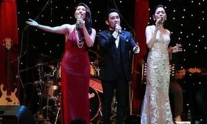 Quang Hà, Lệ Quyên, Hồng Nhung hát trong đêm nhạc Murad
