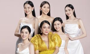 Thí sinh Hoa hậu Việt Nam tạo dáng trong bộ ảnh mới
