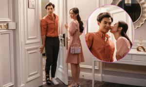 Jun Vũ chủ động hôn Anh Tú trên phim