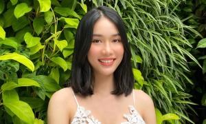 Nhan sắc đời thường của 'á hậu học giỏi' Phạm Ngọc Phương Anh