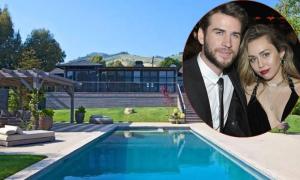 Liam Hemsworth bán biệt thự từng chung sống với Miley