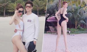 Linh Chi - Lâm Vinh Hải nghỉ resort 5 sao ở Côn Đảo