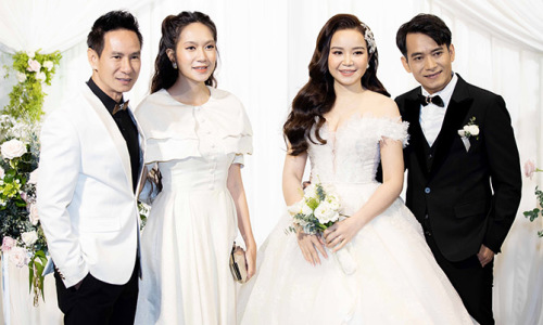 Vợ chồng Lý Hải dự đám cưới đạo diễn Lý Hoàng