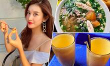 Huyền My ăn một vòng đặc sản Hà Nội trong nửa ngày