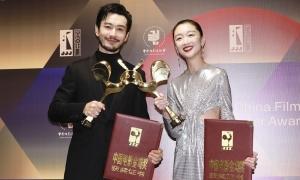 Huỳnh Hiểu Minh, Châu Đông Vũ thắng giải Kim Kê