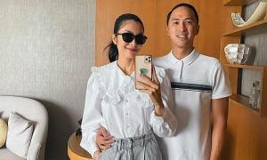 Ảnh sao 29/11: Tăng Thanh Hà ngọt ngào với chồng