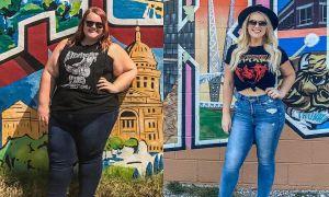 Mẹ đơn thân giảm gần 100 kg để trả thù người yêu cũ