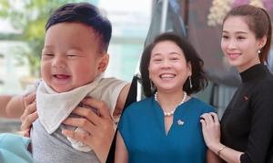Con trai Đặng Thu Thảo giống hệt bà nội
