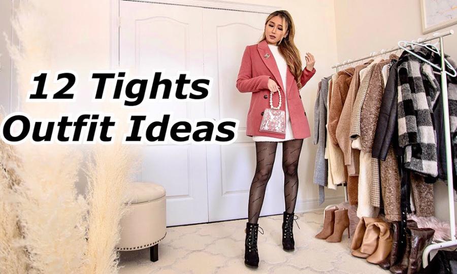 12 set đồ với legging ngày lạnh