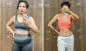 NTK Hà Minh Phúc đánh tan bụng mỡ sau 3 tháng