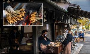 Tiệm bánh mochi hơn 1.000 tuổi - niềm tự hào của Nhật Bản