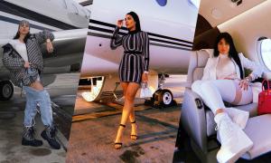 Thời trang đi máy bay của người yêu C. Ronaldo