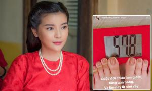 Cao Thái Hà tăng cân do stress
