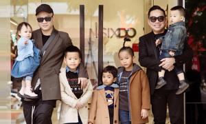 Đỗ Mạnh Cường kết nối tình thân giữa các con bằng thời trang