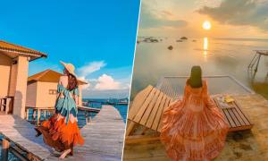 4 villa nổi trên biển như Maldives thu nhỏ ở Phú Quốc