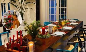 Bằng Lăng trang hoàng nhà cổ đón Giáng sinh