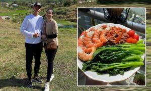 Bà xã Huy Khánh tăng 5 kg sau đợt giãn cách xã hội