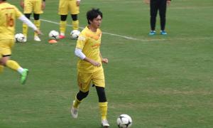 Tuấn Anh trở lại trước trận gặp U22 Việt Nam