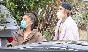Justin Bieber dẫn Ariana Grande đi xem nhà mới