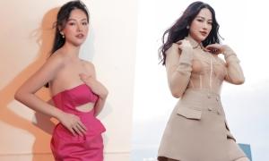 Hoa hậu Phương Khánh gợi ý váy áo đi tiệc cuối năm