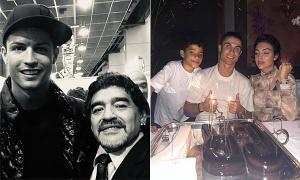 Ảnh của C. Ronaldo được nhiều 'like' nhất năm 2020