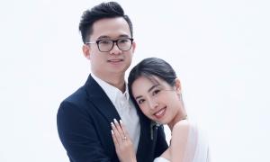 Ảnh cưới á hậu Thúy An và chồng tiến sĩ