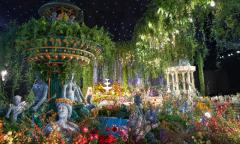 Siêu đám cưới 'Vườn địa đàng' với 5 tấn hoa nhập khẩu