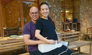 Vợ Phan Đinh Tùng sắp sinh con thứ hai