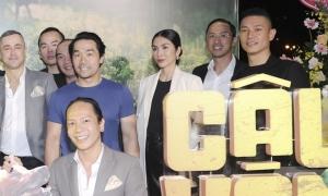 Vợ chồng Tăng Thanh Hà xem phim 'Cậu Vàng'