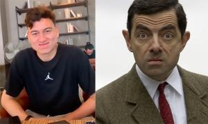 Bạn gái ví Văn Lâm như Mr. Bean