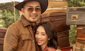 Vợ chồng Thu Trang tình tứ như thuở mới yêu