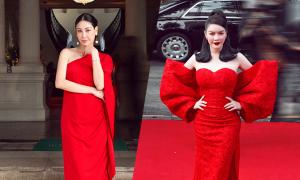 Sao Việt 'đổ bộ' show Vũ Ngọc và Son