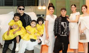 Đỗ Mạnh Cường nghỉ dưỡng cùng 6 con và dàn người đẹp