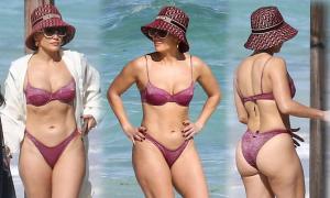 Body săn chắc ở tuổi 51 của Jennifer Lopez