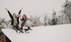 Bộ ảnh cưới giữa trời tuyết Y Tý