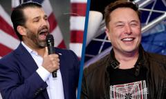 Con trai cả ông Trump muốn Elon Musk lập mạng xã hội mới