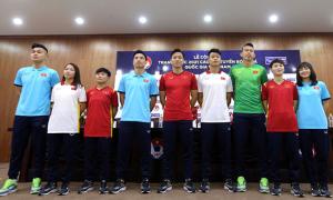 Tuyển Việt Nam có trang phục thi đấu mới