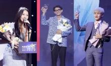 Nghệ sĩ xúc động nhận giải Ngôi sao của năm