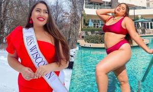 Nàng béo phá vỡ tiêu chuẩn sắc đẹp tại Miss Earth Mỹ