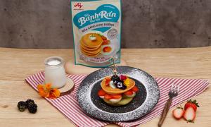 Muôn kiểu chế biến bữa sáng với bánh rán
