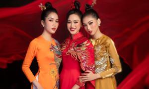 Top 3 Hoa hậu VN 2020 diện trang phục rồng phượng