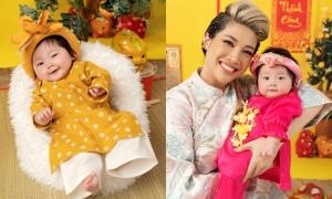 Con gái lai Hàn của Pha Lê biểu cảm đáng yêu