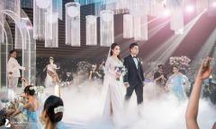 Khoảnh khắc đẹp trong siêu đám cưới của Phan Thành