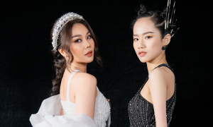 Model khuyết tay Hà Phương: 'Em đơ cả người khi gặp cô Thanh Hằng'