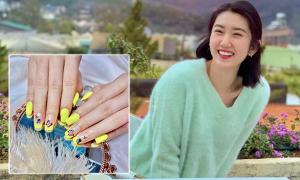 Sao Việt làm nails đón Tết