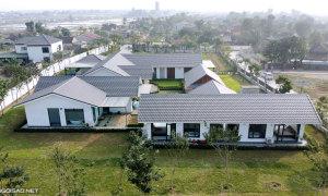 'Dinh thự' kiểu Thái Lan ở làng quê